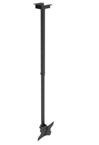Vysoce kvalitní stropní držák na LCD Tv a monitory do 50 kg Brateck PLB-CE322
